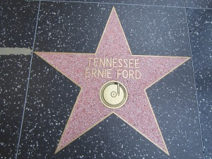 Yes, even he has a star on the Hollywood Walk of Fame (plus, no one else in Hollywood that day would have known who he was!)