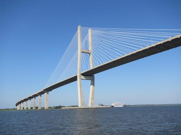 after Jekyll, it was under the Sidney Lanier bridge to Brunswick